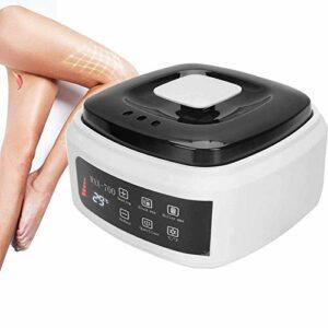 ZYQDRZ Mini Machine À Cire Multifonctionnelle, Épilateur De Cire, Chauffage Rapide, Equipement De Beauté Soins Body Unisexe Beauté