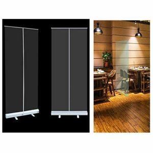 (2019/2020) Écran d'hygiène Transparent, Garde-éternuement, écrans de bannière à Rouleaux clairs, bannière à Rouleaux Pop-up, Gymnase, Salon, Coiffeur, Coiffeur, Bar, pub, Restaurant