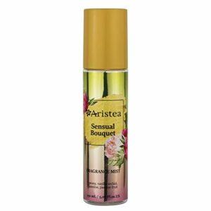 Aristea Sensual Bouquet Brume parfumée pour cheveux et corps, parfum floral pétillant, essence aromatique subtile mais durable, 150 ml