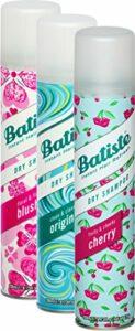 Batiste Shampooing sec Dry Lot de 3 shampooings pour cheveux frais 2 + 1 (3 x 200 ml)