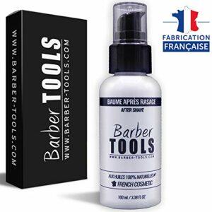 Baume après rasage 100ml – Pour l'entretien et le soin de la peau – FABRIQUE EN FRANCE ✮ BARBER TOOLS ✮