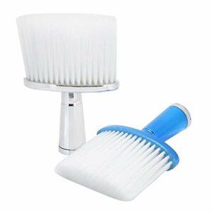 Brosse de cou Brosse portative de plumeau de cou pour homme et femme à utiliser pour le maquillage pour la beauté pour le salon à usage domestique