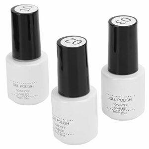 Ensemble de vernis à ongles en gel, accessoire d'outil d'art d'ongle durable 7 ml pour artiste d'art d'ongle à usage professionnel pour la conception d'ongles pour la beauté