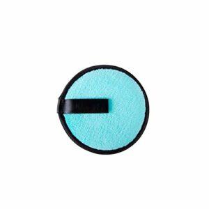 FFAA Tampons Réutilisables De Démaquillant De Maquillage Écologique 3 Pcs-Bleu X 3 Pcs