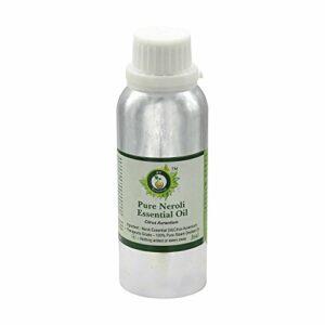 Huile essentielle néroli | Citrus Aurantium | Pour peau | Pour corps | Pour visage | Huile massage | 100% naturel pur | Distilléé vapeur | Neroli Essential Oil |1250ml | 42oz By R V Essential