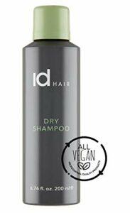 IdHair – Shampooing sec – Shampooing sec avec effet volume – Convient à tous les types et couleurs de cheveux – Vegan – Sans parabens ni sulfate – 200 ml