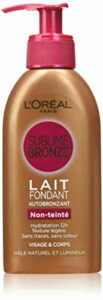L'Oréal Paris – Sublime Bronze Lait Fondant Autobronzant Visage/Corps – 150 ml