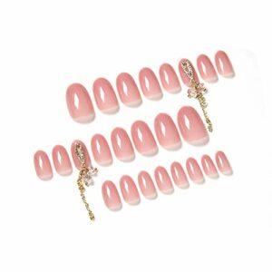 Lot de 24 épingles à ongles à surface lisse et portable pour salon de beauté