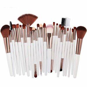 Maquillage De Beauté, Lenfesh 25pcs Maquillage CosméTique Pinceau Fard à Joues Fard à PaupièRes Ensembles De Kits