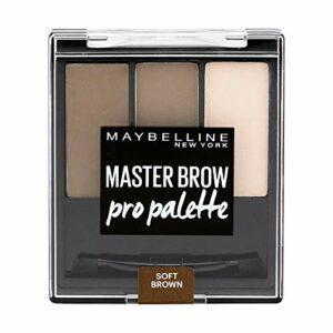 Maybelline New York 3 Soft Brown Kit Palette à Sourcils Claire
