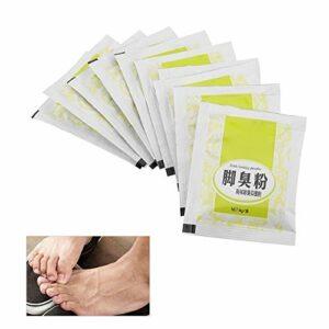 Odeur de pied Poudre Odeur de pied Sueur Traitement des bactéries contre la démangeaison Pieds odorants Poudre saine Soins de la peau