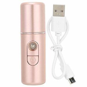 Pulvérisateur à brume nano de 20 ml, instrument de pulvérisation hydratant hydratant en forme de mini rouge à lèvres, humidificateur USB pour le visage, outil de beauté pour les soins(01)