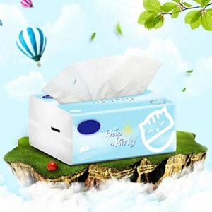 QueenYA Pull-Out Papier Serviettes, Toilettes Bébé Ménage Papier Absorbant, en Vrac Papier, Salle De Bains Accessoires Papier Absorbant, Intéressant Toilettes Papier Cadeau