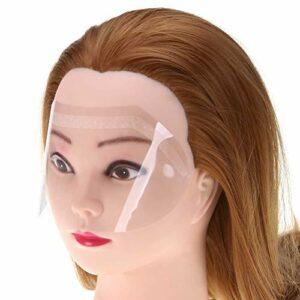 SUPVOX Lot de 100 masques transparents de protection pour les yeux