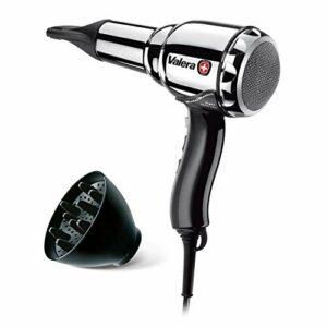 Valera 584.01/Les metal-master Light Ionic Sèche-cheveux, 2000W, Argent