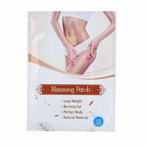 Ventre minceur Patch 12pcs ultramince ventre Amincissant Patch Abdomen Coussinets d'élimination de graisse Body Shaping autocollant