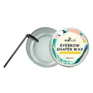 WENLIANG Maquillage à Sourcils Savon-Savon-Savon, Sourcils, Cheveux brisés, Maquillage Naturel de la Cire de Cire de Fil de Sourcils naturels