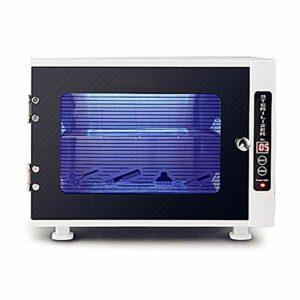 ZZYYZZ Cabinet UV de stérilisateur Professionnel de réchauffeur de Serviette pour de Petits vêtements, Machine faciale de désinfection d'équipement d'outil d'art de Clou de Soin de beauté de Peau
