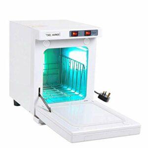 ZZYYZZ Stérilisateur UV Désinfection Chauffe-Serviette 5L Cabinet de Chauffe-Plat avec 2 Commutateurs Salon Spa Soins de Santé Faciaux pour la Maison