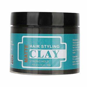 Cire cheveux style longue durée cheveux naturels modèle hydratant nourrissant crème pour les cheveux peut concevoir cheveux cassés gel cire crème pour hommes et femmes(80g)