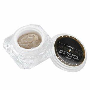 Crème dissolvante pour cils, extraits de plantes naturelles sûres ingrédients crème dissolvante adhésive pour cils conception professionnelle pour la maison pour salon de beauté