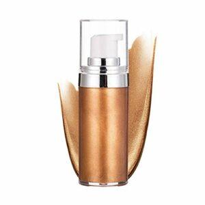 Crème Surligneur, Crème Contour Du Visage Maquillage Visage Corps Brillant Bronzers Cosmétiques Brillant Illuminateur(3#)