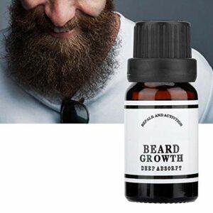 Duevin 10 ml Huile pour barbe Huile de barbe Soins de la barbe pour les hommes pour le soin quotidien de la barbe de 3 jours ou de la barbe entière Pour l'Entretien et le Soin de Barbe