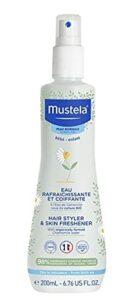 Eau Rafraichissante Et Coiffante Corps Et Cheveux Peaux Normales 200Ml Mustela