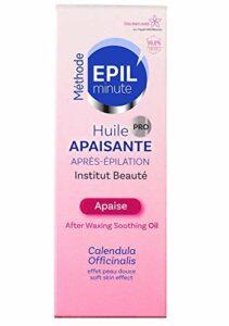 EPIL'minute – HUILE APAISANTE APRES EPILATION – Huile végétale et Calendula Officinalis