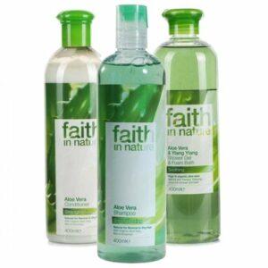 Faith in Nature–Après-shampooing à l'aloe vera schampoo & Gel Douche
