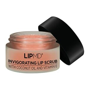 Gommage à lèvres LIPMD 3 en 1 exfolie, hydrate et adoucit pour des lèvres propres, fraîches et revigorées