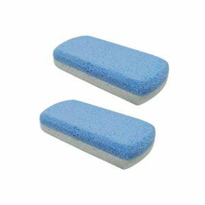 HEALIFTY 2pcs pierre ponce lave outils de pédicure double face forme de sucette remover peau dure pour les mains pied fichier exfoliation