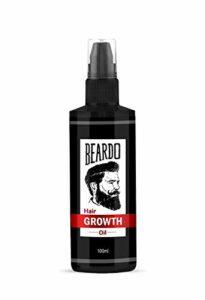 Huile de croissance pour barbe et cheveux Glamorous Hub – 100 ml