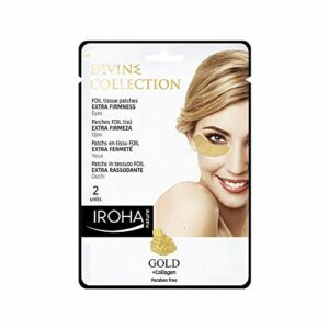 Iroha Nature – Patch Yeux Foil Divine Gold 12ml