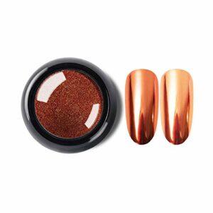 Jie Du – 1 Pc Nail Art – Poudre à Ongles – Pigment chromé brillant – Décoration brillante – Couleur pure – Métal plaqué
