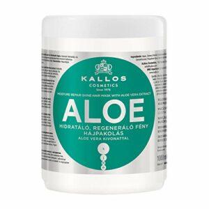 Kallos Moisture Repair Shine Masque pour Cheveux Aloe Vera 1 L