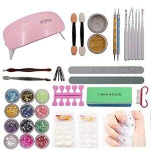 Kit de démarrage professionnel pour ongles – Pour débutant