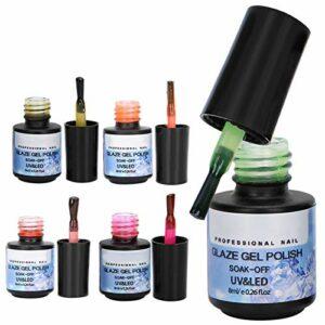 Kit de vernis à ongles en gel pour ongles de beauté pour les ongles de bricolage pour les filles