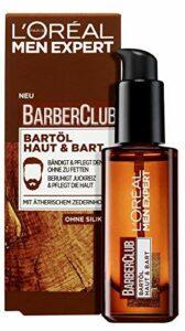 L'Oréal Men Expert Barber CLUB HUILE POUR BARBE peau et barbe , Lot de 1 paquet (1 x 30 ml)