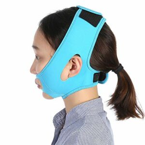 Masque Minceur, Sangle Amincissante Pour Le Visage Ceinture de lifting, Aide à façonner un visage parfaitement profilé et à améliorer le double menton
