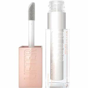 Maybelline New York – Gloss à Lèvres Effet Repulpant & Hydratant – Enrichi en Acide Hyaluronique – Lifter Gloss – Teinte : 001 Pearl