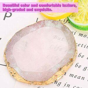 Mélange d'échantillons d'ongles de la palette de beaux pigments de fond de teint lisses pour les rouges à lèvres(pink)