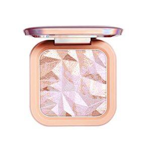 Mettez en surbrillance Pile de Poudre, Maquillage Poudre de Poudre Mise en évidence de la Palette de Poudre de Maquillage, Palette de Poudre de Paillettes de Paillettes éclaircissant avec Miroir