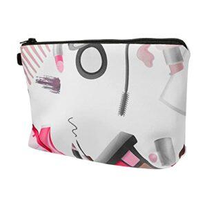 Minkissy 4 Pièces Portable Maquillage Sac de Toilette Pochettes Voyage Cosmétique Sac De Rangement Organisateur pour Les Femmes Fille