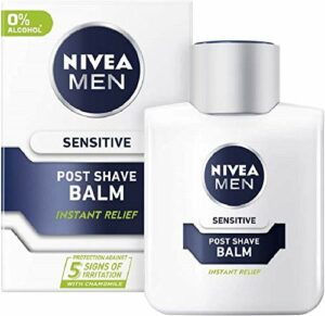 NIVEA Baume après rasage extra apaisant For Men – Peau sensible – 100 ml