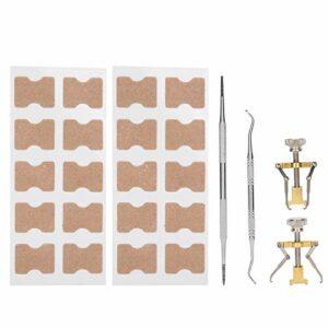 Patchs de correction des ongles outil de manucure d'orthèse d'orteil pour un usage domestique pour les ongles incarnés pour le soulagement de la douleur pour les ongles épais
