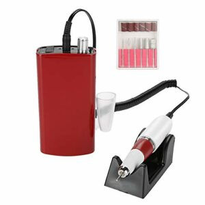 Perceuse électrique pour nail art, 3 types rechargeables pour manucure pédicure machine de pédicure outil de soins des ongles, machine de polissage acrylique portable manucure pédicure