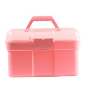Portable manucure portable Outils Case grande capacité Nail Art outil Boîte de rangement maquillage Organisateur Nail Polish Container