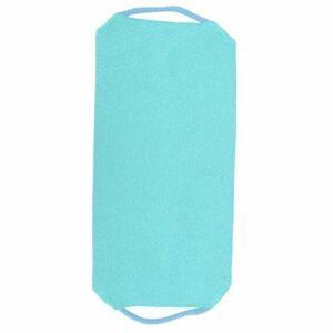 Pwshymi Serviette de Bain Douche élastique Sangle Serviette de Bain frottant pour ménage pour Hommes et Femmes(Blue)