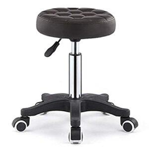 QLIGAH Tabouret de beauté Chaise de Coiffure Chaise de Coiffure Tabouret de Levage à Ongles Rondes Tabouret à Ongles Poulie Workbench Maquillage Coiffeur
